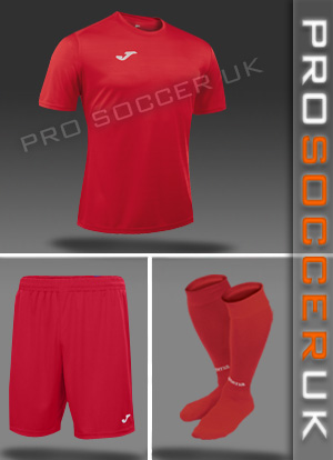 Joma Campus II Short Sleeve Strip