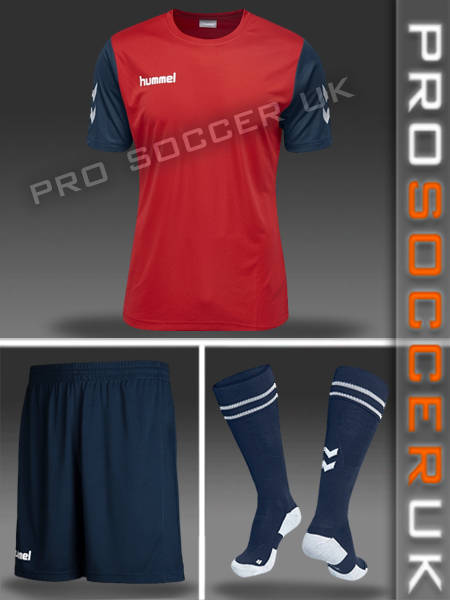 Hummel Short Sleeve Football Kits