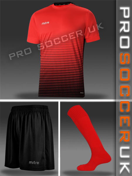 Mitre Short Sleeve Football Kits