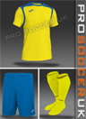 Joma Champion V Short Sleeve Strip
