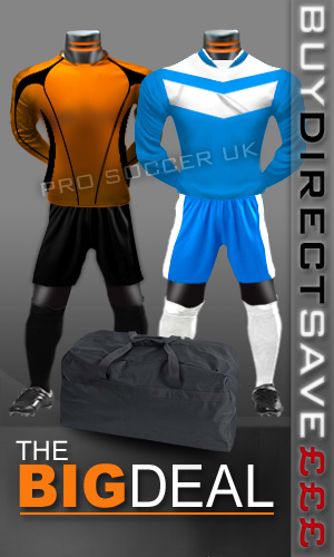 Euro Junior/School Football Kit Pack