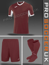 Joma Champion IV Short Sleeve Strip