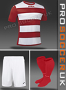 Joma Europa III Short Sleeve Strip